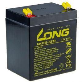 Long 12V 5Ah olověný akumulátor F1 (WP5-12B F1)