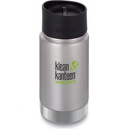 Klean Kanteen Insulated Wide w/Café Cap 2.0 - brushed stainless 355 ml