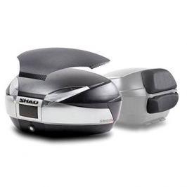 SHAD Vrchní kufr na motorku SH48 Nový titan vč. opěrky a karbonového víka