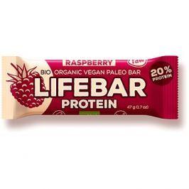 Lifefood Lifebar Protein Bio Raw malinová – 15 ks