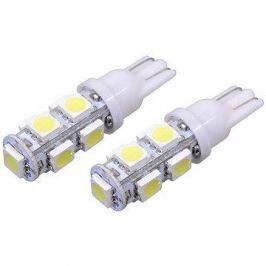 COMPASS 9 SUPER LED 12V  T10  bílá 2ks