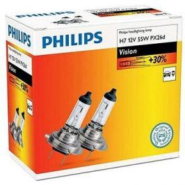 PHILIPS  H7 Vision, 55W, patice PX26d, 2 ks