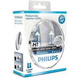 PHILIPS  H7 WhiteVision, 55W, patice PX26d, 2ks + zdarma 2x W5W