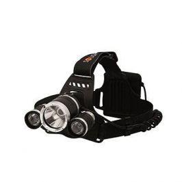 Solight čelová LED svítilna SUPER POWER, 3x Cree LED