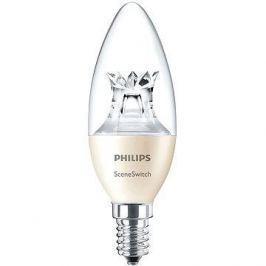 Philips LED SceneSwitch Svíčka 40W, E14, 2700-2500-2200K, Čirá