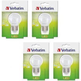 Verbatim 3.1W LED E27 2700K set 4ks