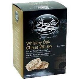 Bradley Smoker - Brikety Whiskey Dub 120 kusů Pro udírny