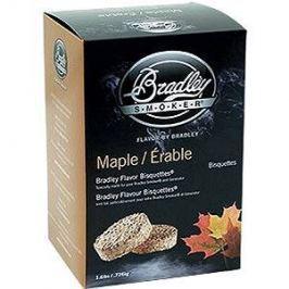 Bradley Smoker - Brikety Javor 120 kusů Pro udírny