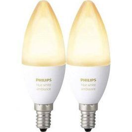 Philips Hue White Ambiance 6W E14 set 2ks