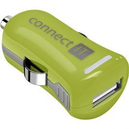 CONNECT IT InCarz Charger ONE 2.1A zelená (V2)