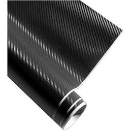 4CARS Fólie 3D CARBON se vzduchovými kanálky černá 1.52x3m