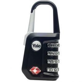 YALE VISACÍ ZÁMEK YTP5/31/223/1 s TSA, černý