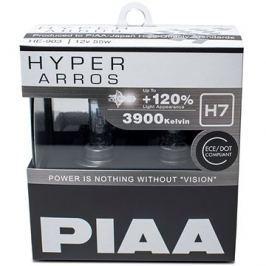PIAA Hyper Arros 3900K H7 - o 120 procent vyšší svítivost, zvýšený jas
