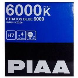 PIAA Stratos Blue 6000K H7 - studené bílé světlo s xenonovým efektem