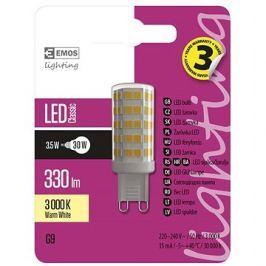 EMOS LED žárovka Classic JC A++ 3,5W G9 teplá bílá