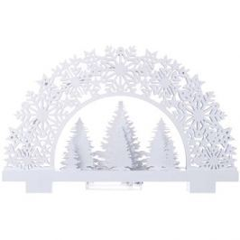 EMOS LED dekorace - stojánek stromky, 2xAA, teplá bílá, časovač