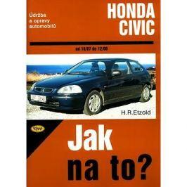 Honda Civic od 10/87 do 12/00: Údržba a opravy automobilů č. 64 Knihy