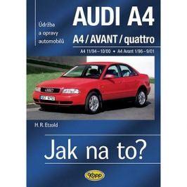 Audi A4, Avant, Quatro: Udržba a opravy automobilů č.96