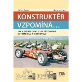 Konstruktér vzpomíná...: Jak v Plzni vzniklo 200 závodnícj automobilů a motocyklů