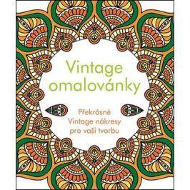 Vintage omalovánky: Překrásné Vintage nákresy pro vaší tvorbu