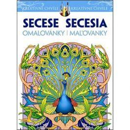 Secese Omalovánky Secesia Maľovanky: Kreativní chvíle/ kreatívne chvíle