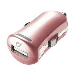 Cellularline Unique Design car charger pro iPhone růžovozlatá
