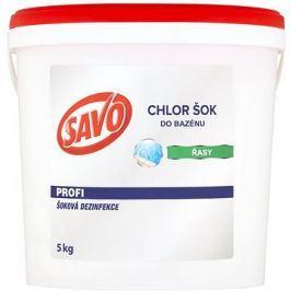 SAVO Do bazénu Chlor Šok dezinfekce 5kg