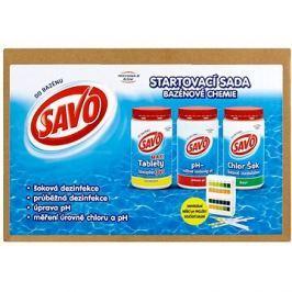 SAVO Start pack bazénová chemie