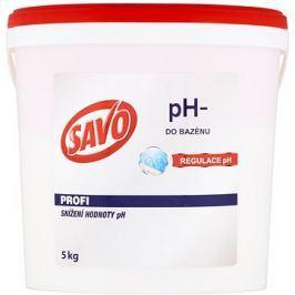 SAVO Do bazénu pH- snížení hodnoty pH 5kg
