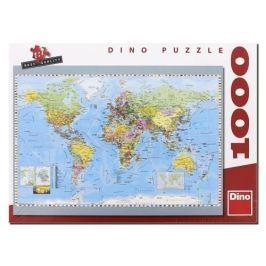 Dino Puzzle 1000 POLITICKÁ MAPA SVĚTA