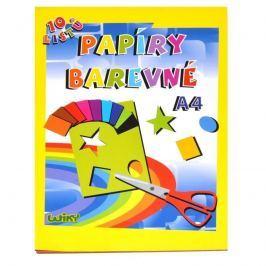 Wiky Wiky Papíry barevné A4, 10 listů, 180g