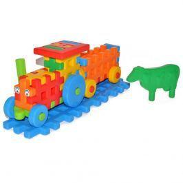 Wiky Wiky Stavebnice plastová - traktor