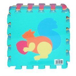 Wiky Wiky Měkké puzzle bloky zvířata 30x30 cm