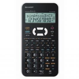 Vědecký kalkulátor SHARP EL-531XHWH-W bílá