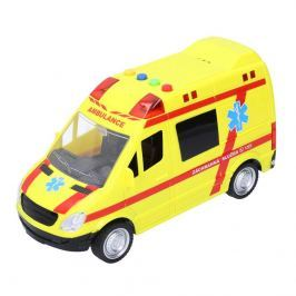 Wiky Vehicles Záchranka, žluté auto s efekty