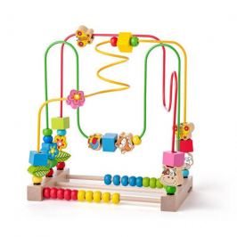 Woody Motorický labyrint s počítadlem a zvířátky