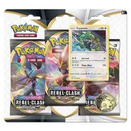 ADC Blackfire Pokémon TCG: SWSH02 Rebel Clash 3 Blister Booster