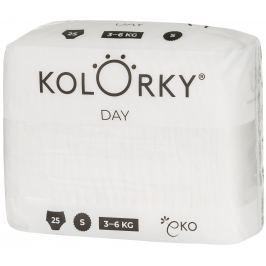 Kolorky Day Nature S (3-6 kg) - jednorázové EKO plenky