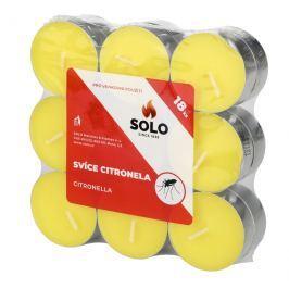 Solo Citronela čajové svíčky odpuzující hmyz