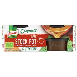 Knorr BIO Organický jelly bujón hovězí (4×26 g)