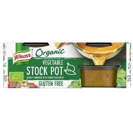 Knorr BIO Organický jelly bujón zeleninový (4×26 g)