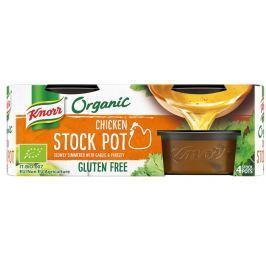 Knorr BIO Organický jelly bujon kuřecí (4×26 g)