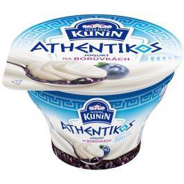 Kunín Athentikos jogurt na borůvkách