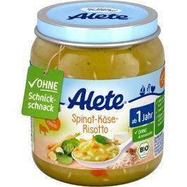 Alete BIO Sýrové rizoto se špenátem