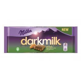 Milka Dark Milk Almond