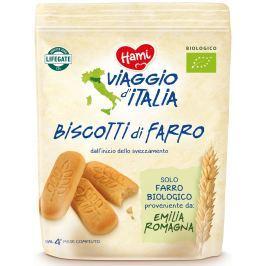 Hami BIO Viaggio di Italia Dětské italské špaldové sušenky