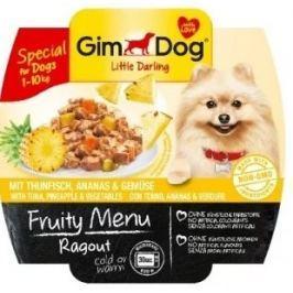 Gimdog ragú pro psy s tuňákem, ananasem a zeleninou