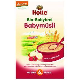 Holle BIO Babymüsli kaše vhodná od 6. měsíce věku