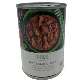Marks & Spencer Hot Lamb Curry kousky jehněčího masa v pálivé kari omáčce