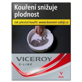 Viceroy S-line Red 40 Silver